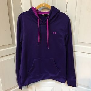 Under Armour Semi Fitted Purple & Pink Hoodie